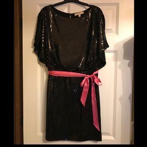 New Black Sequin Dress - Little Black Dress, 12